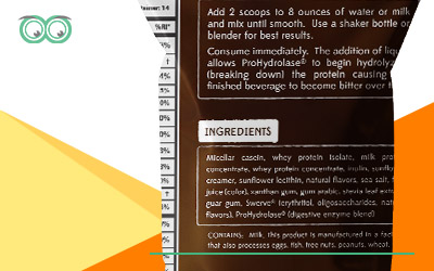ingredients on food labelling