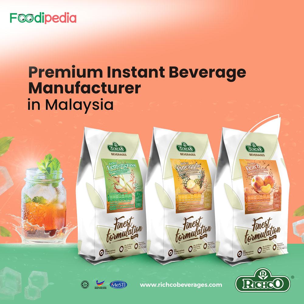 Richco premium instant beverage manufacturer