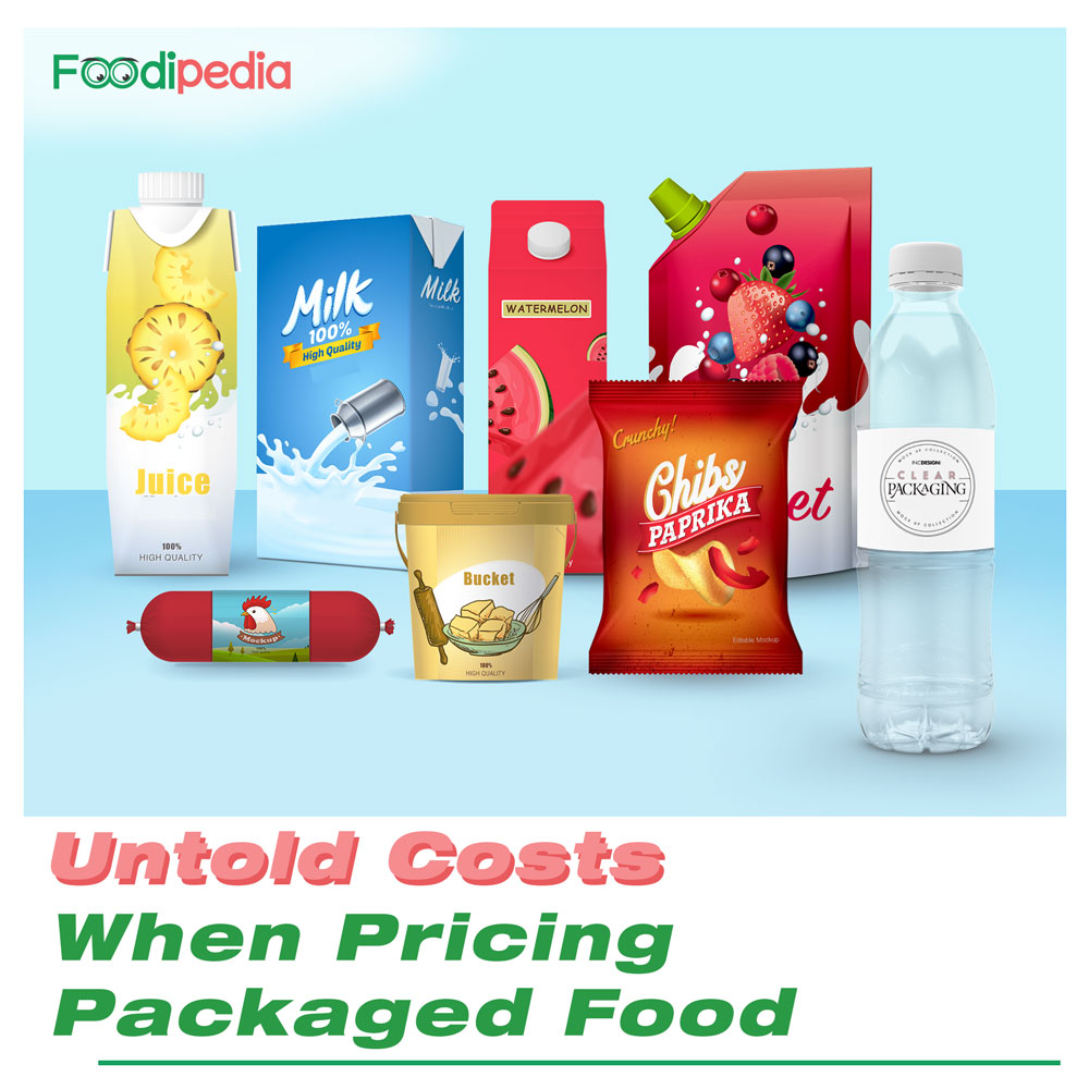 packaged food Pricing
