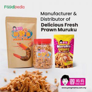 yongmama manufacturer distributor of delicious fresh prawn muruku