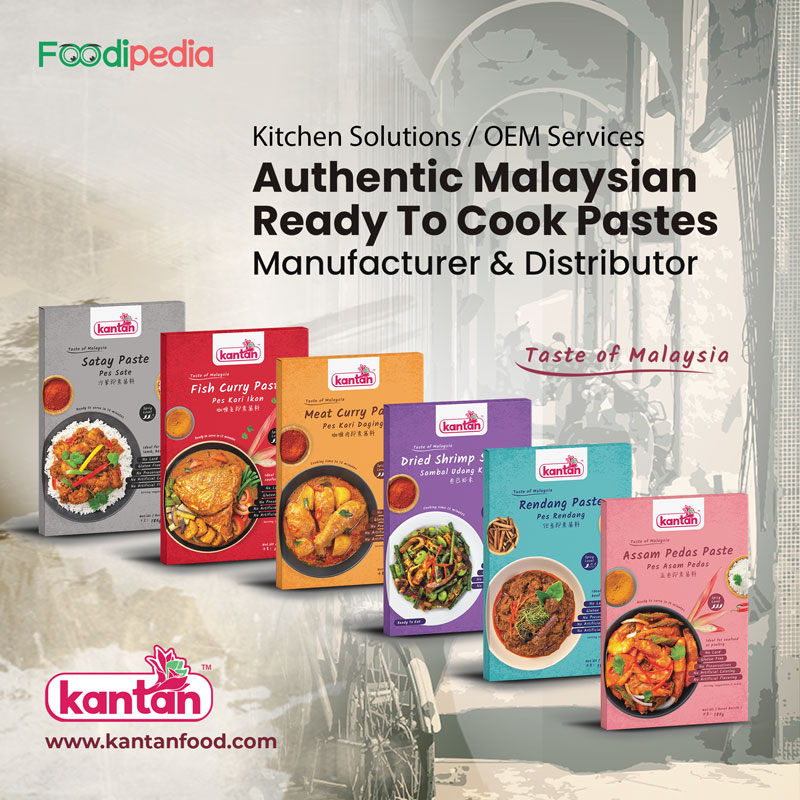 kantan food authentic malaysian ready to cook pastes